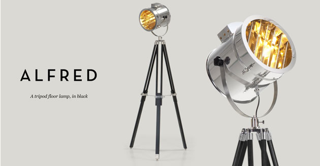Alfred Tripod Floor Lamp Made Com Blogandbuysale