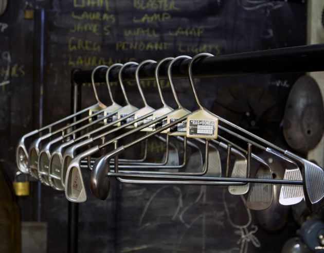 Wow..these Golf Club Coat Hangers Are The Literally The Coolest Products  BlogAndBuySale Have Seen This Year. We Were Blown Away By The Make Quality,  ...