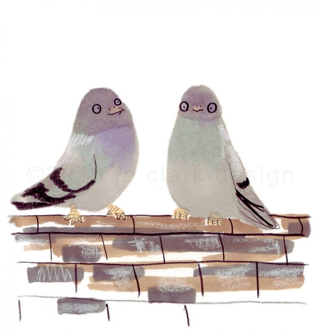 original_pigeons-in-love-art-print