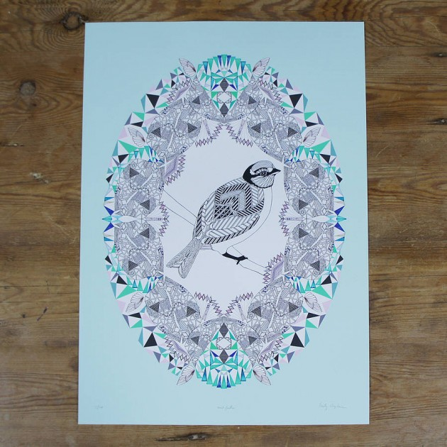 original_mint-feather-giclee-print