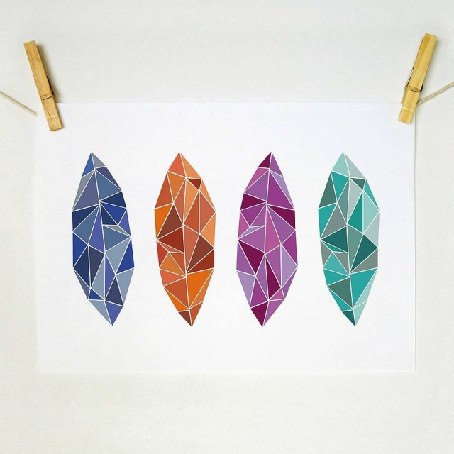 original_geometric-leaves-limited-edition-art-print