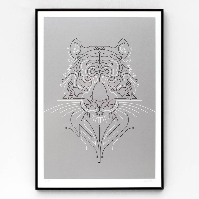tiger_framed