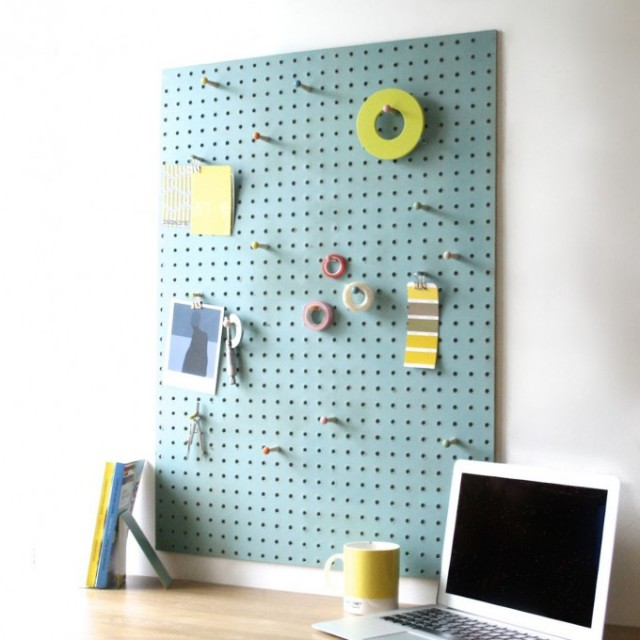 block design peg board