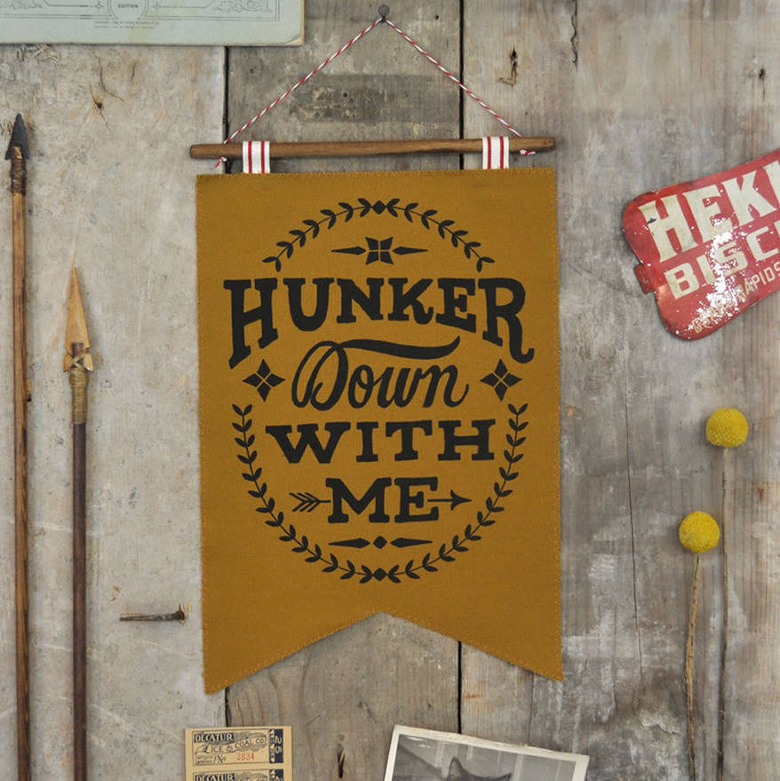 original_hunker-down-with-me-wall-hanging-gold