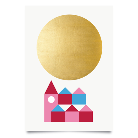 WINTER SUN AND MOON PRINTS – PAUL FARREL