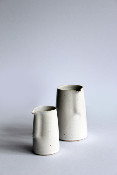 HAND THROWN MINI JUGS – GLOSTERS