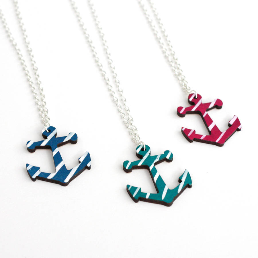 original_anchor-necklace-hand-painted-candy-stripes