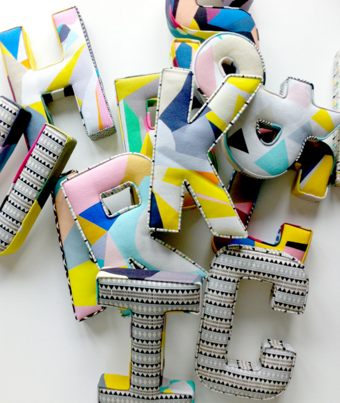 FABRIC LETTERS – KITTY MCCALL
