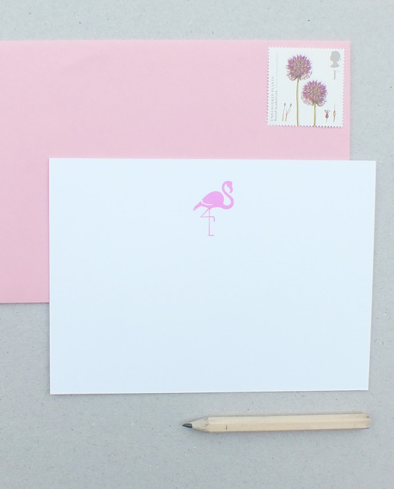 Dear-To-Me-notecards-flamingo-570x708