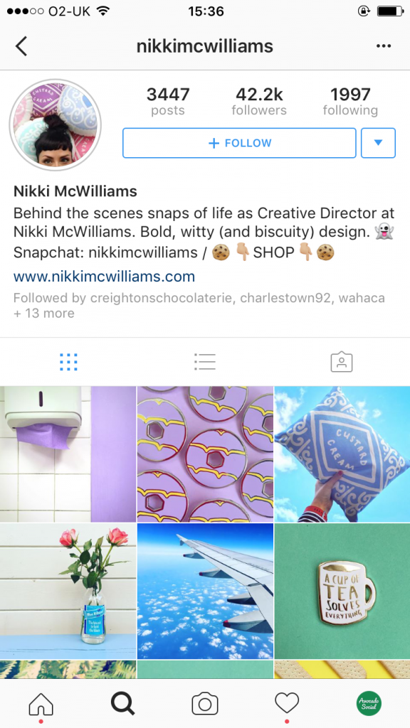Nikki McWilliams Instagram Tips